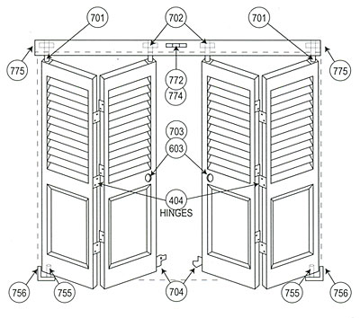 Bifold Doors Hardware 111fd For
